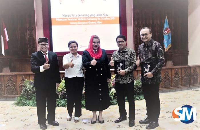Peluncuran Peraturan Walikota tentang Bangunan Gedung Hijau Semarang